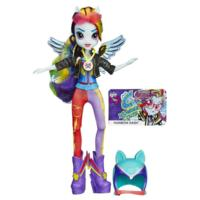 My Little Pony Equestria Girls - Boneca Rainbow Dash estilo esportivo motocross