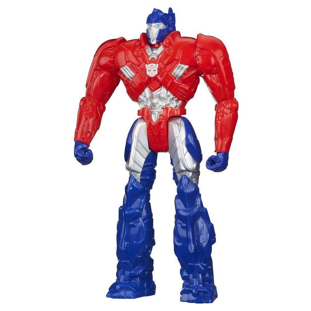Boneco Titan Heroes Optimus Prime - Coleção Transformers: A Era da Extinção