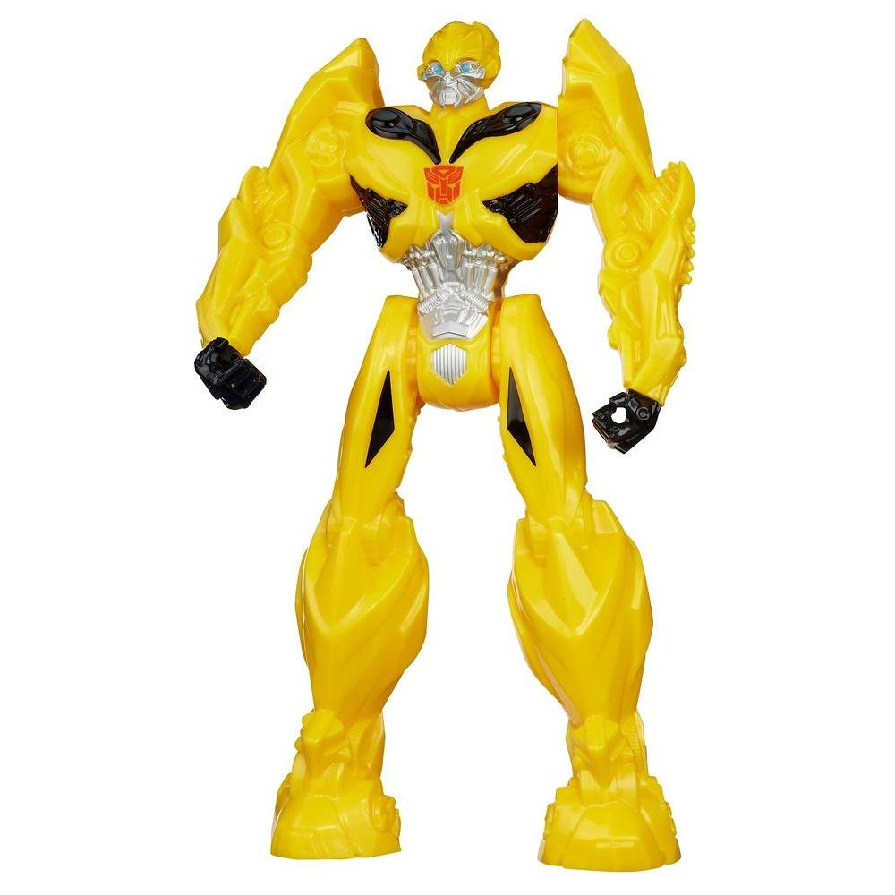 Boneco Titan Herores Bumblebee - Coleção Transformers: A Era da Extinção