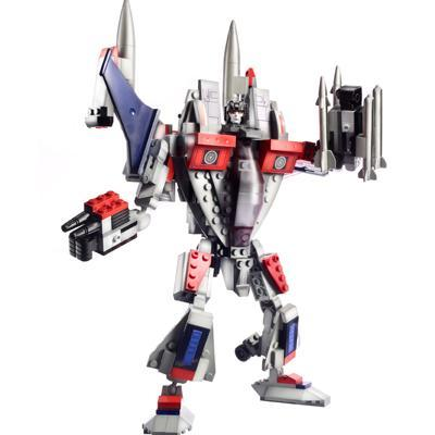 BLOCOS DE MONTAR KRE-O TRANSFORMERS - STARSCREAM
