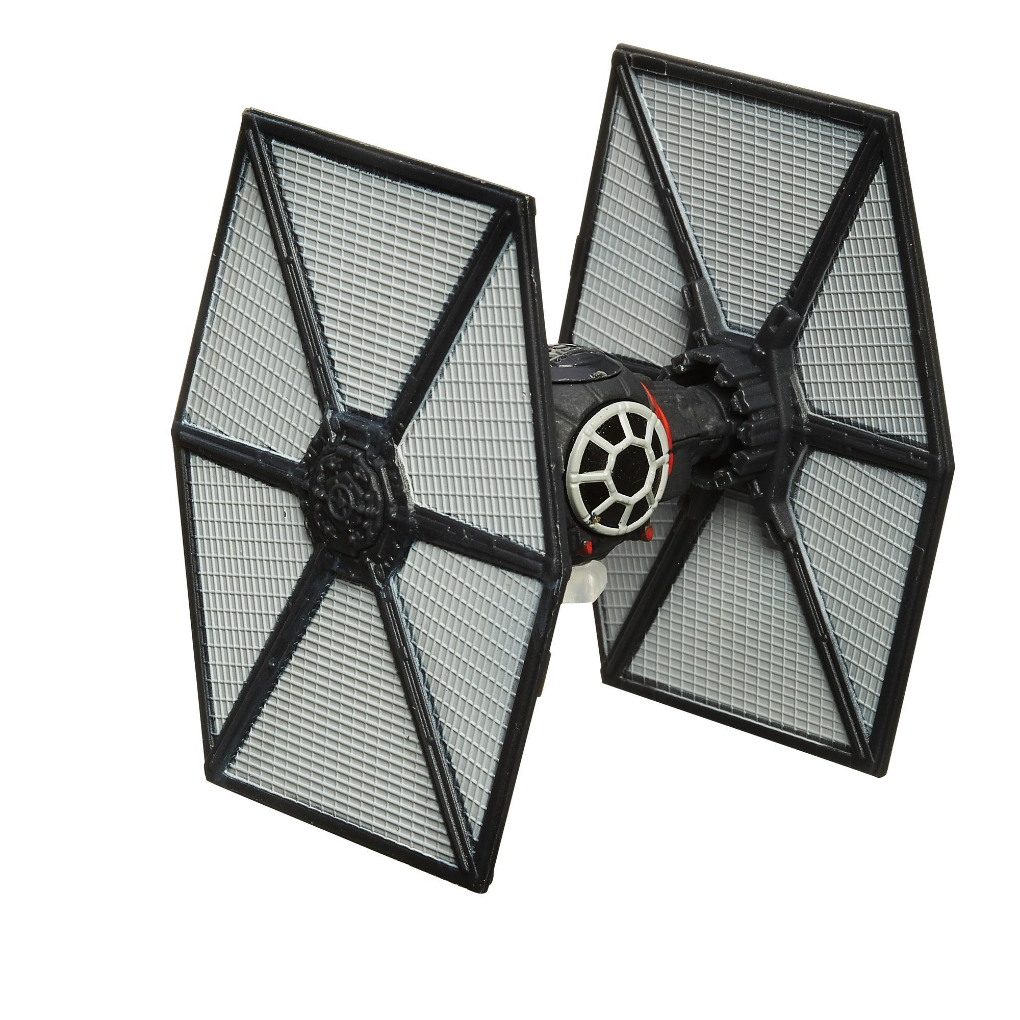 Star Wars Episódio VII TIE Fighter da Forças Especiais de Primeira Ordem Titanium Black Series