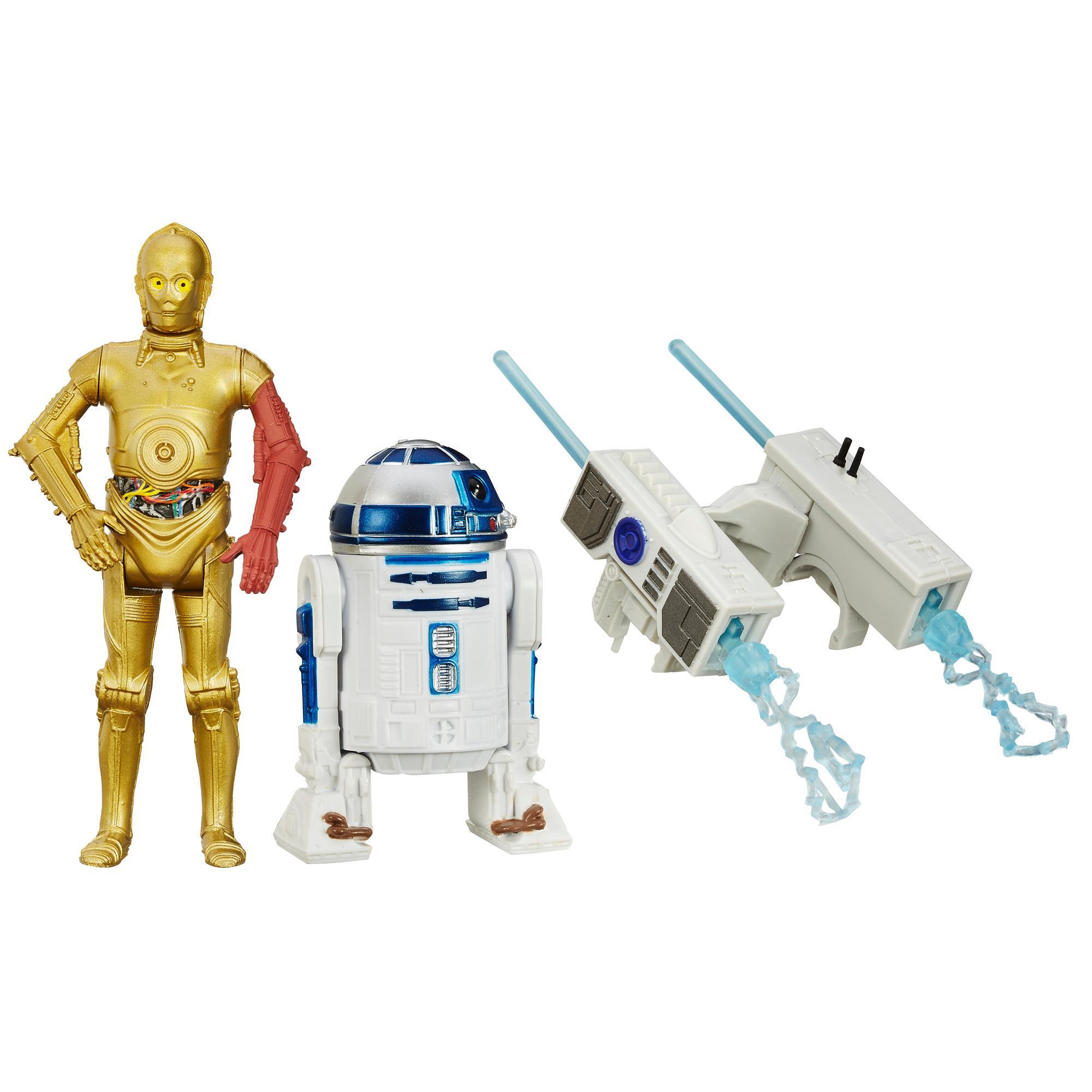 Star Wars: O Despertar da Força - Missão na Neve com 2-Figuras de 9,5 cm: R2-D2 e C-3PO