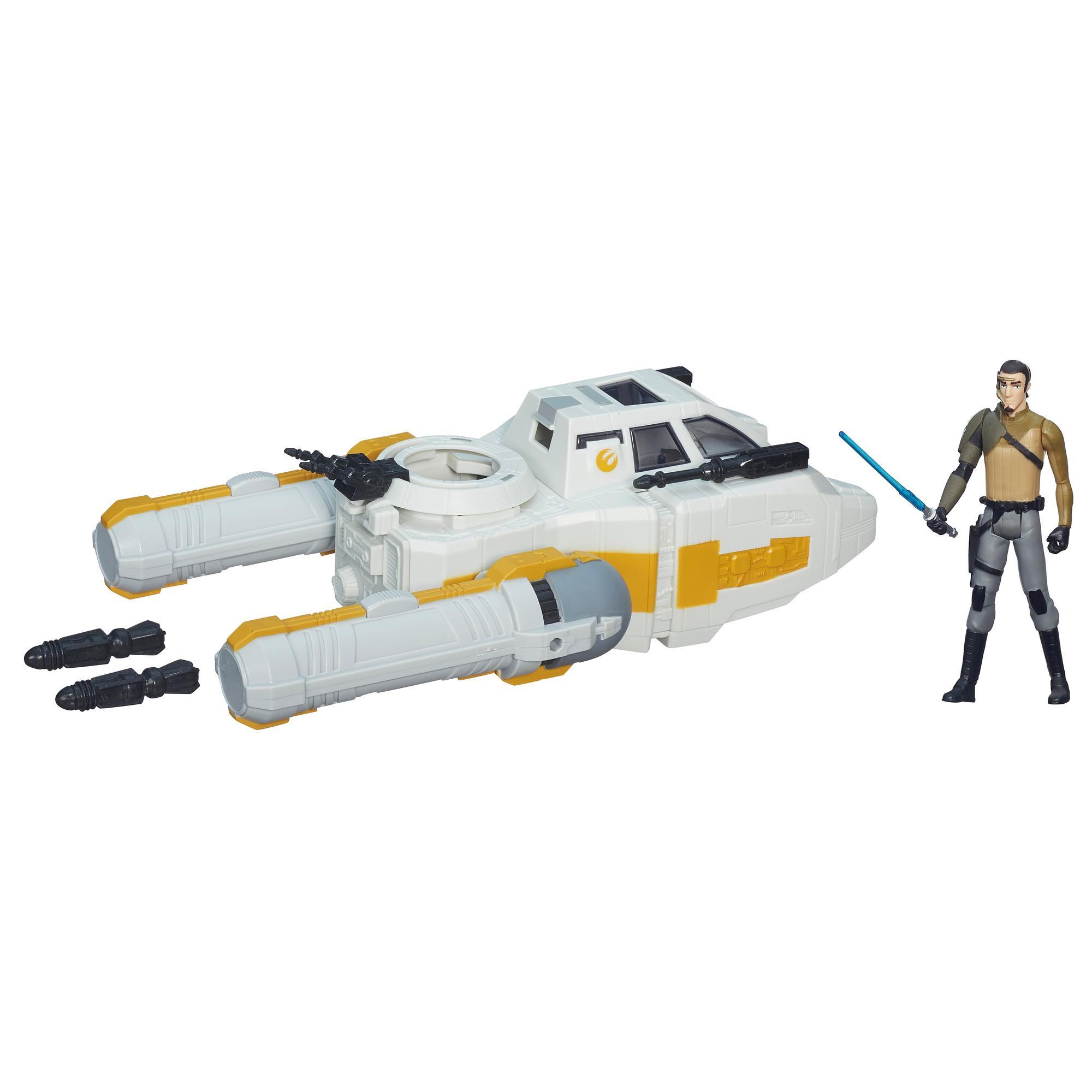 Star Wars Rebeldes Veículo Y- Wing Scout Bomber de 9,5 cm