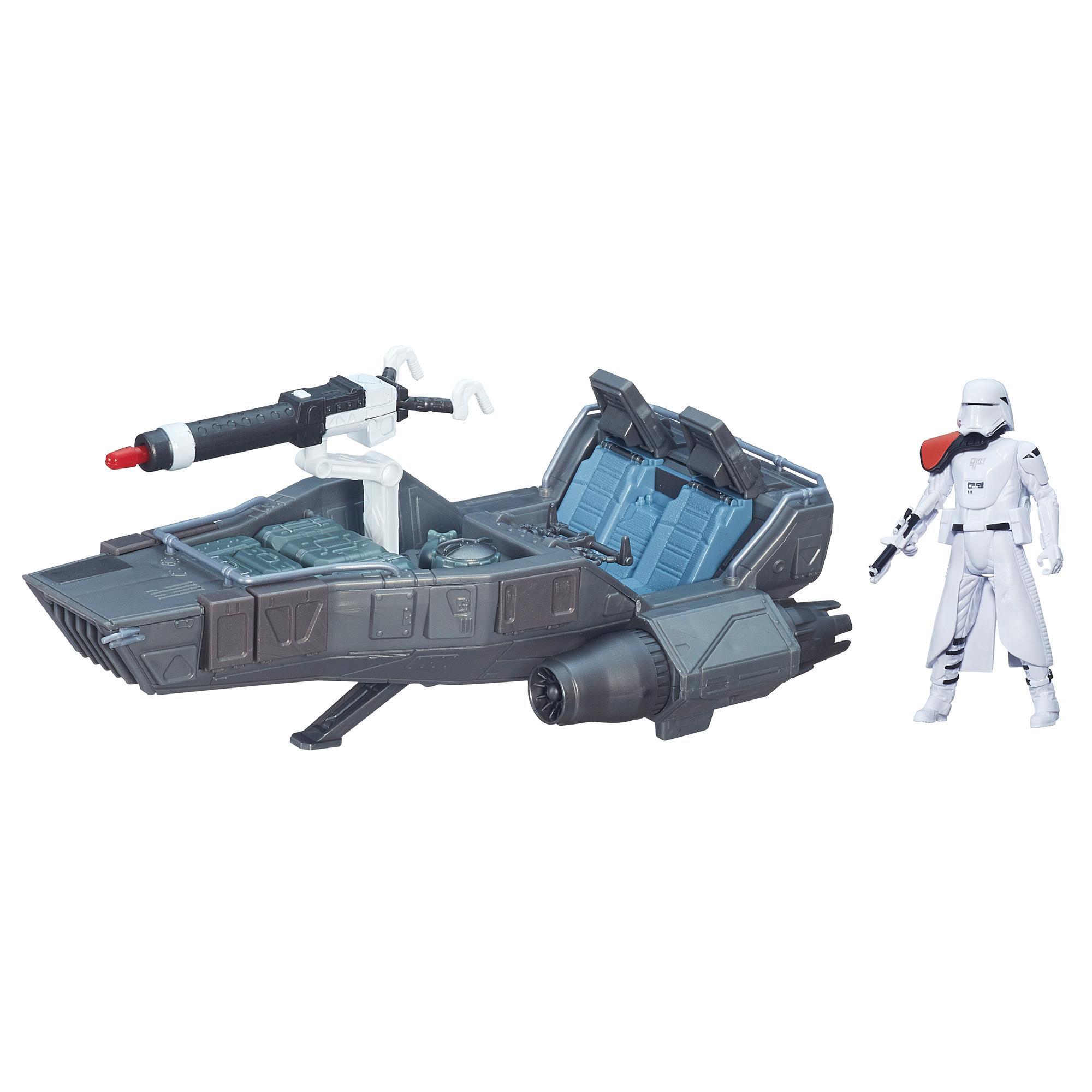Star Wars O Despertar da Força Veículo Snowspeeder de Primeira Ordem de 9,5 cm