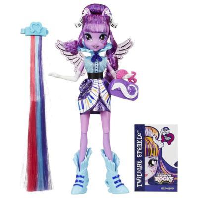 My Little Pony Equestria Girls Rainbow Rocks - Twilight Penteados de Arrasar