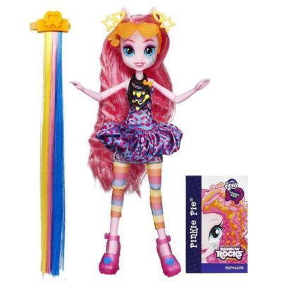 My Little Pony Equestria Girls Rainbow Rocks - Pink Pie Penteados de Arrasar