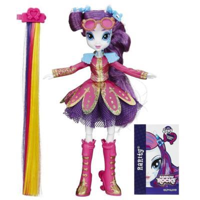 My Little Pony Equestria Girls Rainbow Rocks - Rarity Penteados de Arrasar