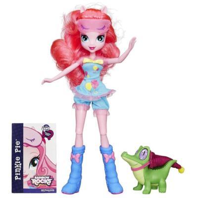 My Little Pony Equestria Girls Rainbow Rocks - Kit Pinkie Pie and Gummy Snap