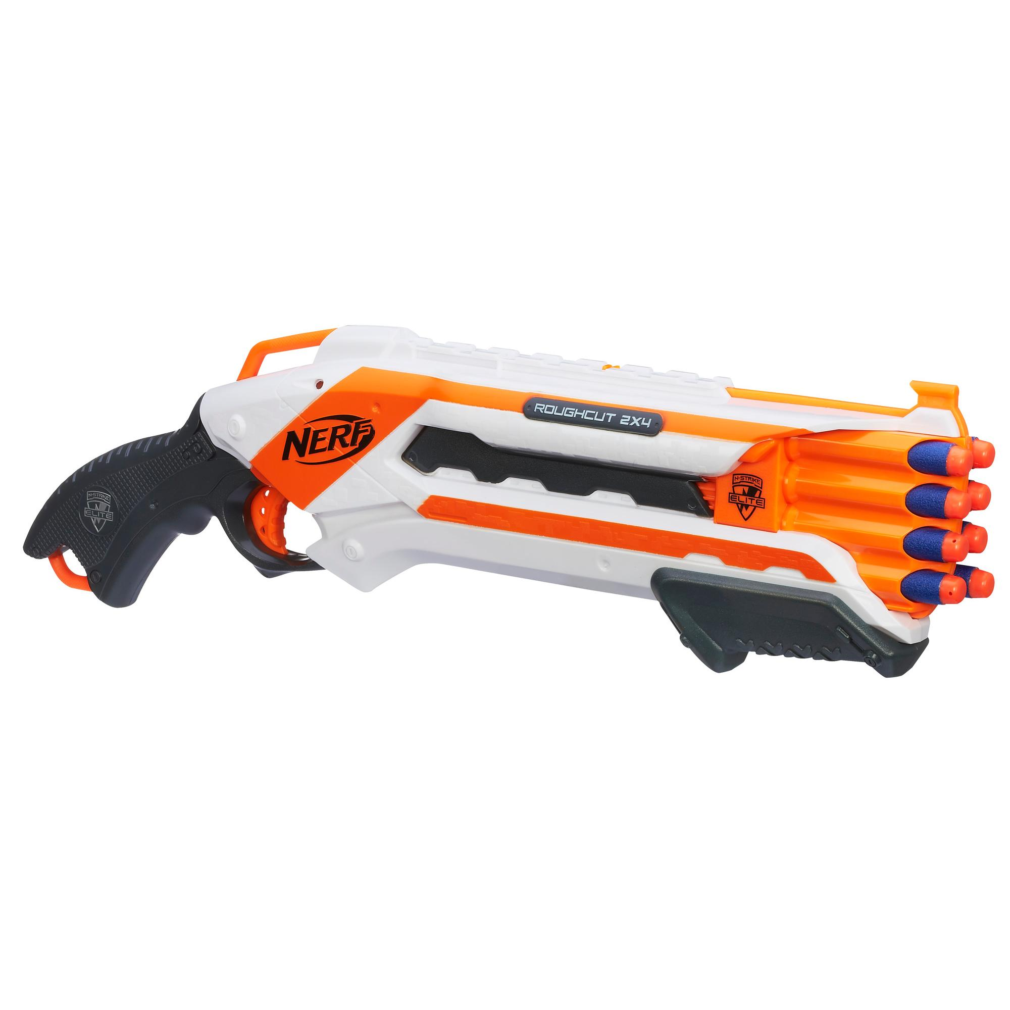 LANÇADOR DE DARDOS NERF N-STRIKE ELITE ROUGH CUT