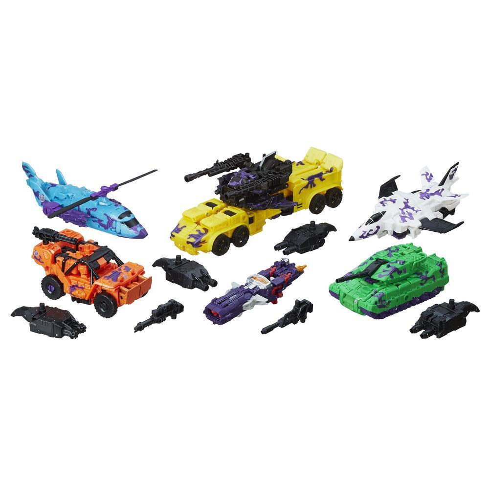 Transformers Generations Combiner Wars - Kit para coleção Bruticus