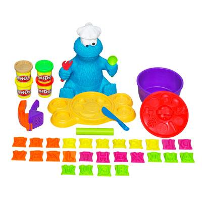 CONJUNTO PLAYDOH SOPA DE LETRINHAS DO COME-COME