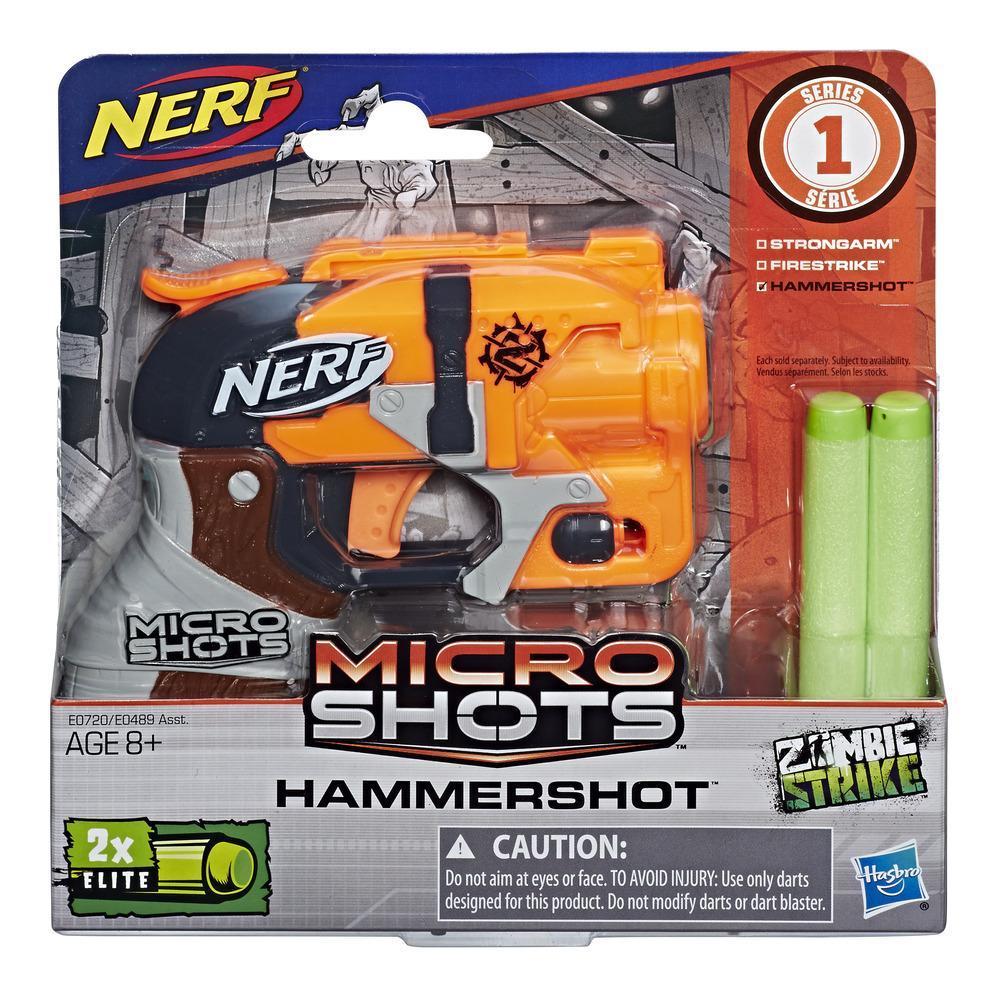 Nerf MicroShots Zombie Strike - Hammershot