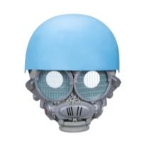 Transformers: Bumblebee -- Máscara eletrônica do Autobot Sqweeks