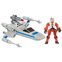 Hero Mashers do Star Wars - Episódio VII - X-Wing e Piloto da Resistência