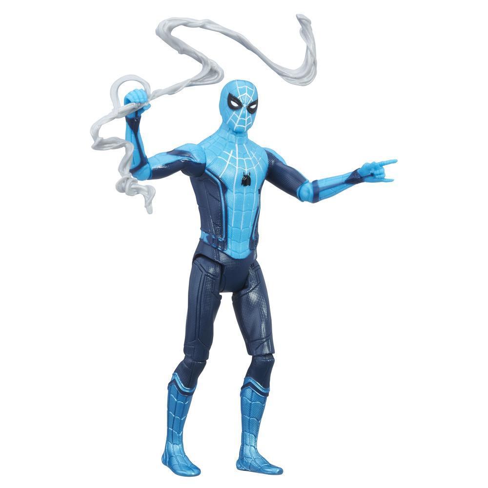 Figura Marvel's Spider-Man Uniforme Hi-tech de 15cm do filme Spider-Man: Homecoming