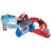 Playskool Heroes Transformers Rescue Bots Flip Racers - Pista de Corrida e Captura