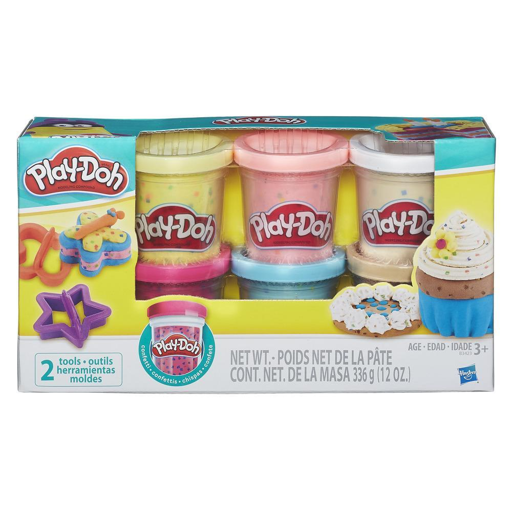 Pote Play-Doh Confete Sortido