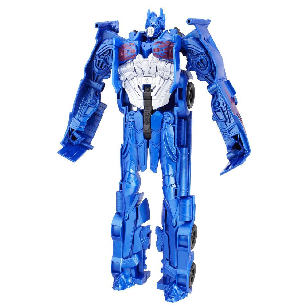 Transformers: O Último Cavaleiro Titãs Conversíveis Optimus Prime