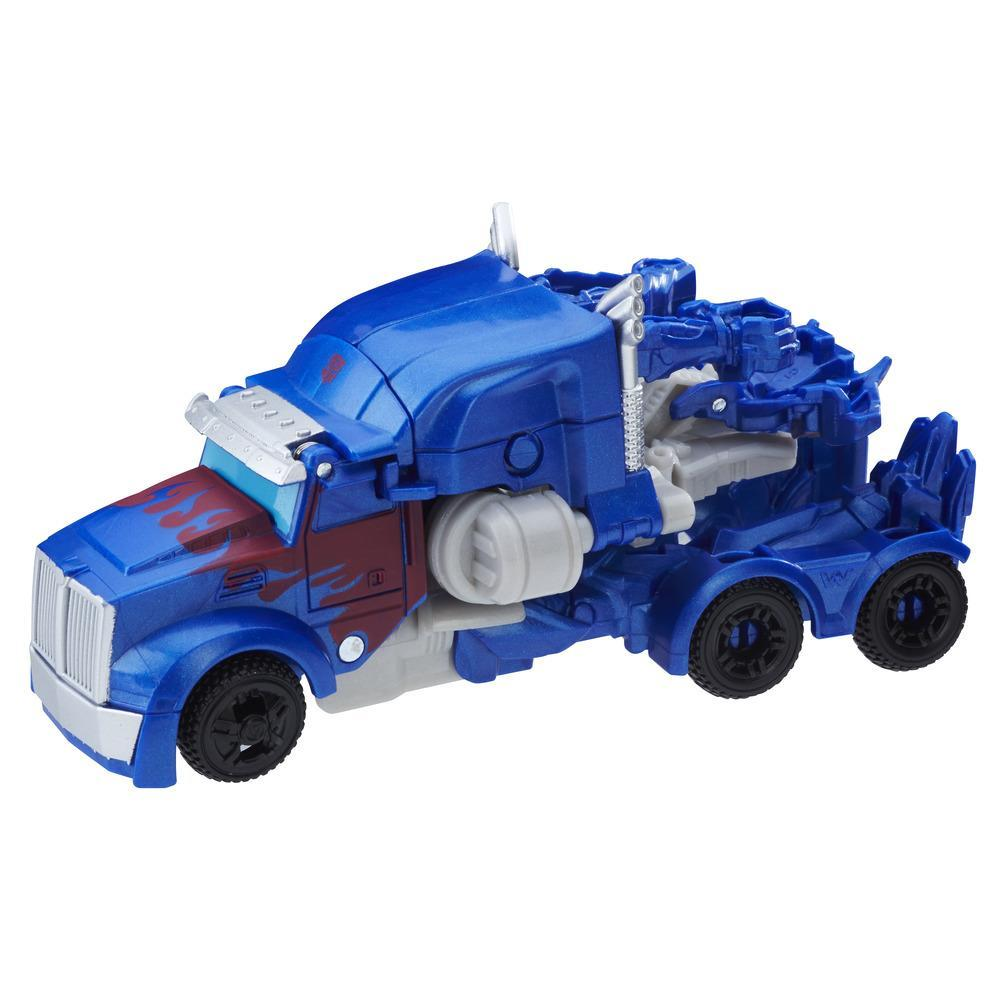 Transformers: The Last Knight 1-Step Turbo Changer - Optimus Prime