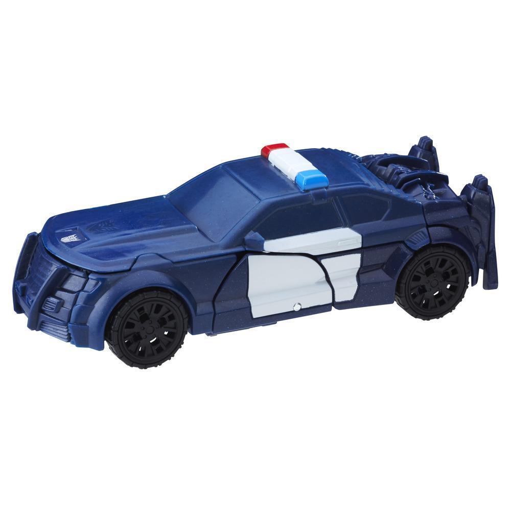Transformers: The Last Knight 1-Step Turbo Changer - Cyberfire Barricade