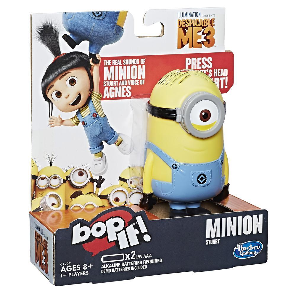 Jogo Bop It!: Edição do Minion Stuart