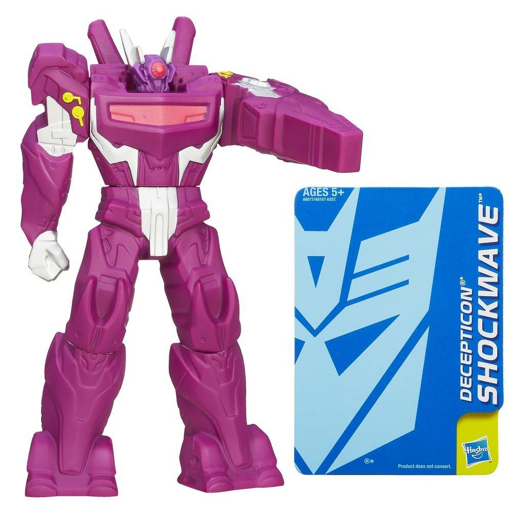 Transformers Prime Guardiões Shockwave