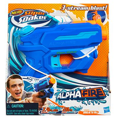Lançador Nerf Super Soaker Alphafire