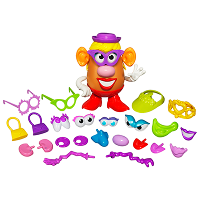 Playskool Mr Potato Head - Maleta Divertida