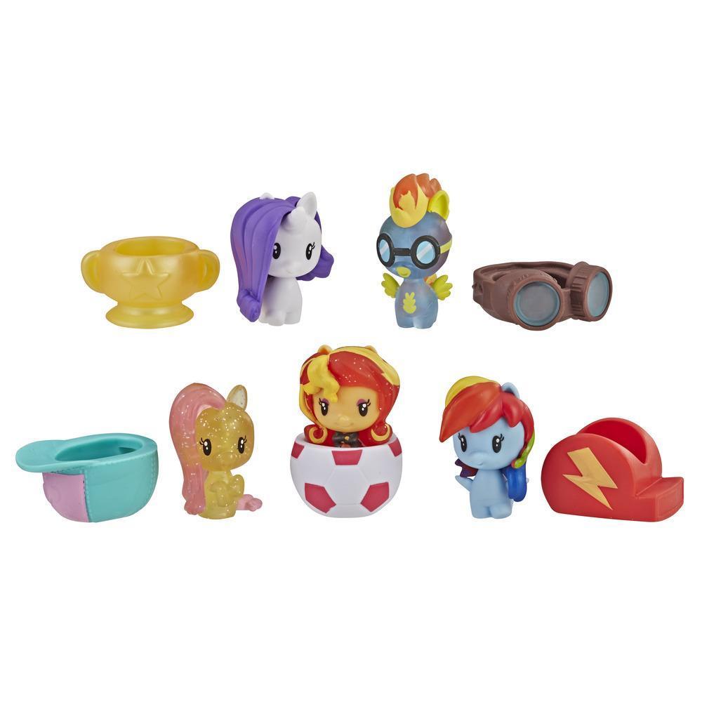 My Little Pony Cutie Mark Crew Série 3 - Kit Festa do Campeonato com 5 brinquedos