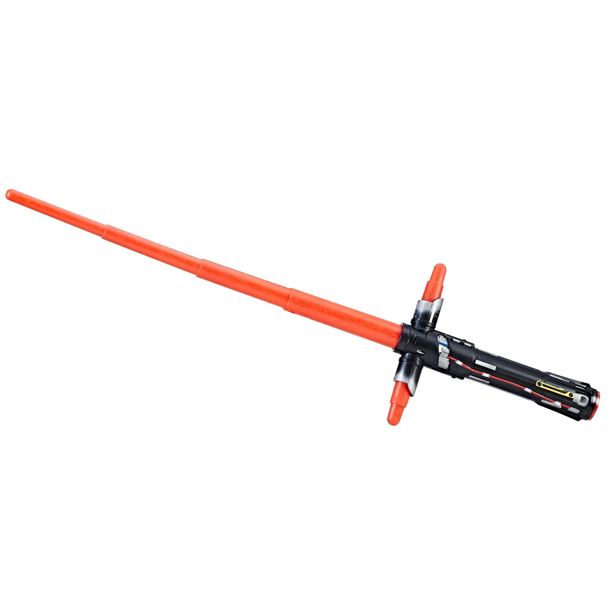 Star Wars: Os Últimos Jedi - Sabre de luz extensível de Kylo Ren