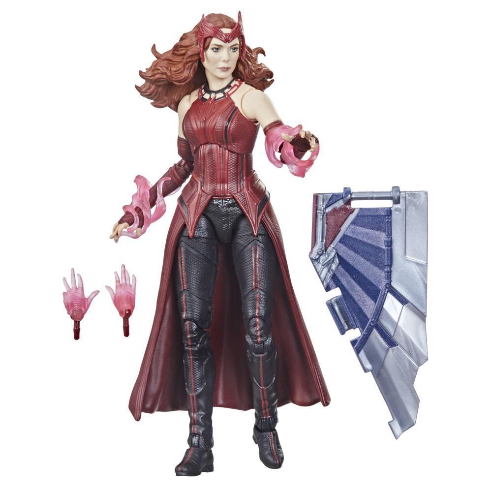 Hasbro Marvel Legends Series Vingadores - Feiticeira Escarlate - Figura 15 cm, Brinquedo para Crianças a partir dos 4 Anos