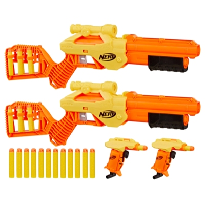 Kit Múltiplo Nerf Alpha Strike Lynx SD-1 e Stinger SD-1