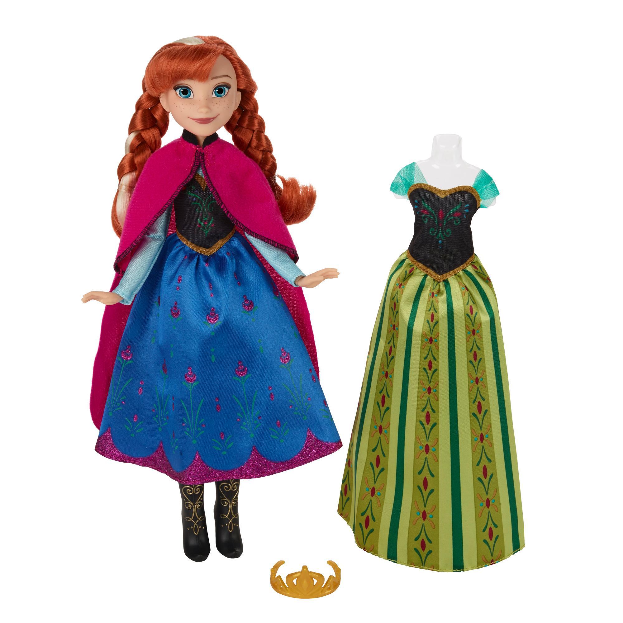 Disney Frozen Uma Aventura Congelante Anna vestidos reais
