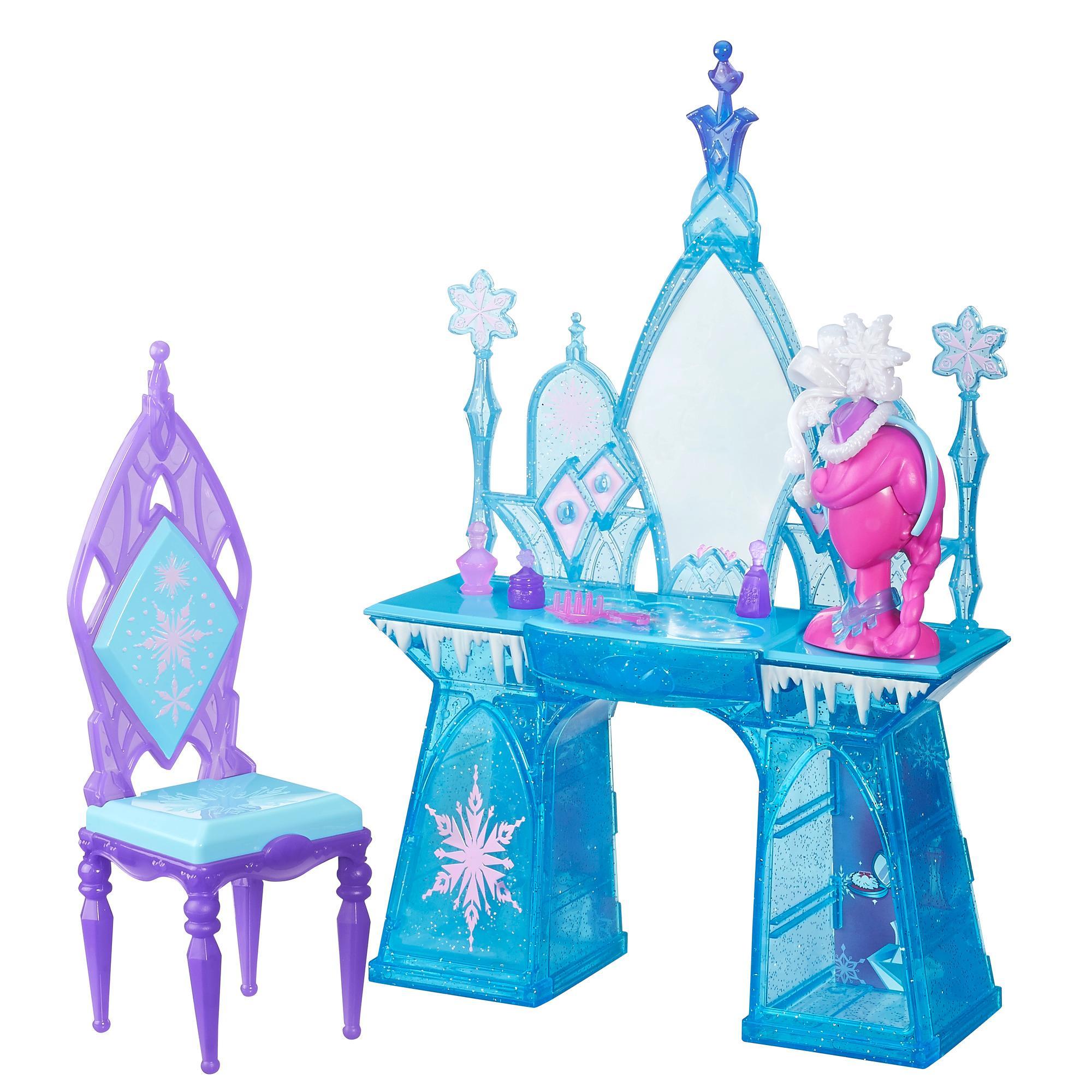 Cenário Luxo Frozen Sortido Cama da Elsa