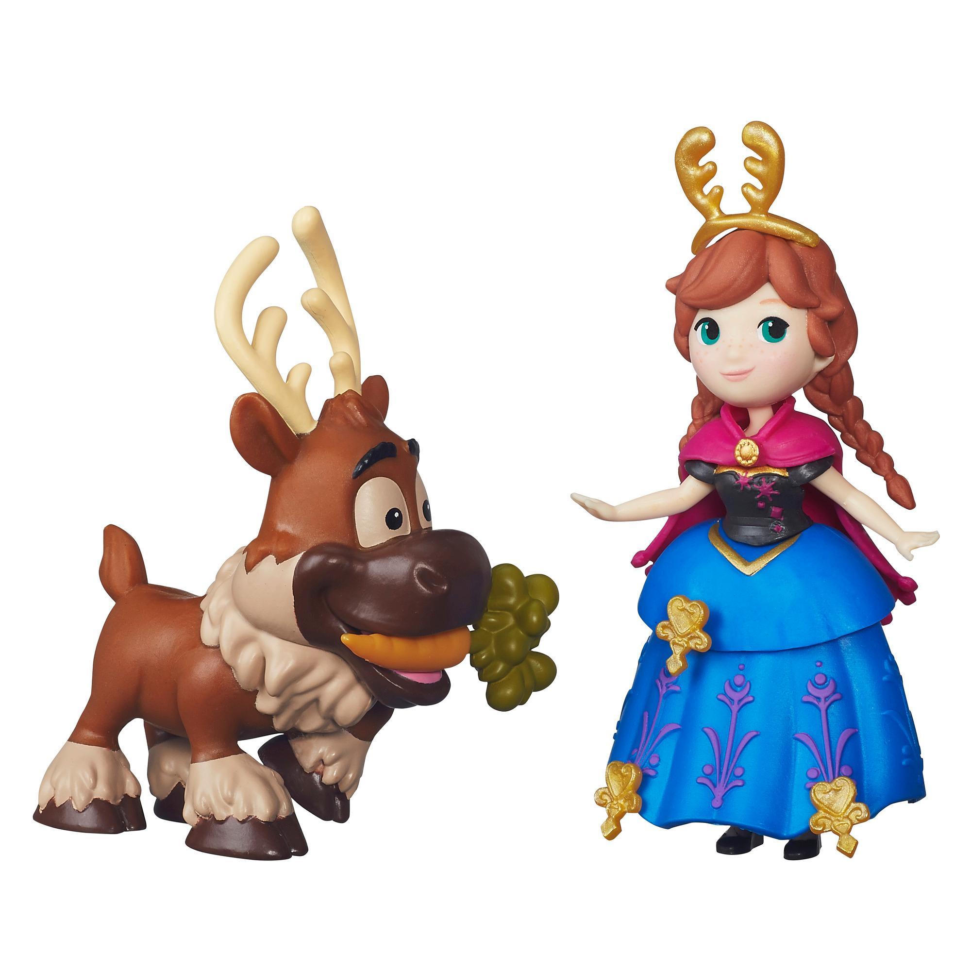 Disney Frozen Uma Aventura Congelante Pequeno Reino Anna & Sven