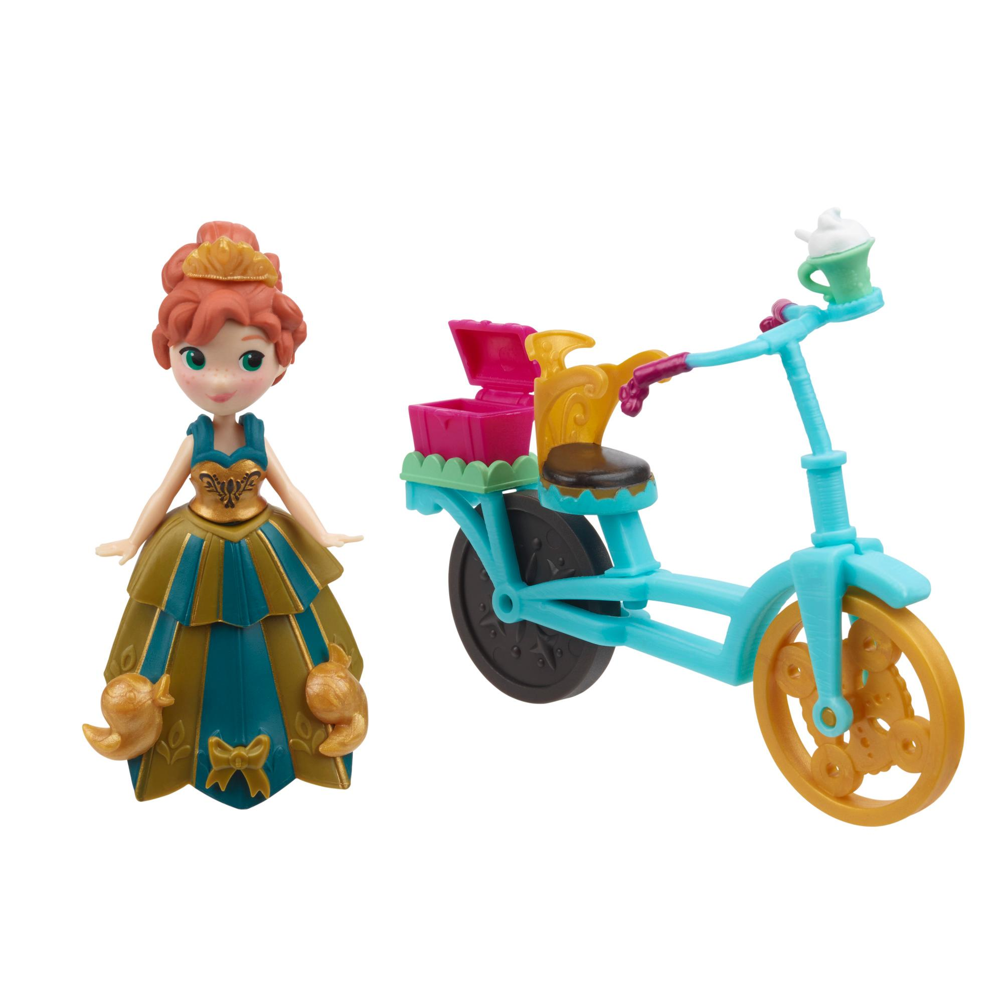 Mini Boneca Frozen Anna e Acessório