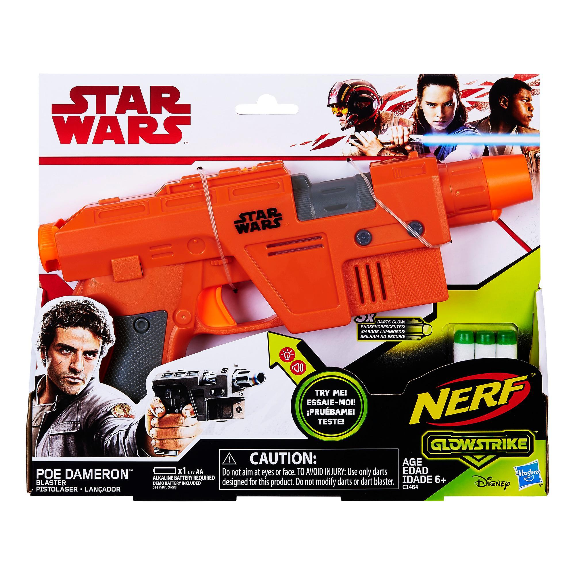 Star Wars Nerf - Lançador de Poe Dameron