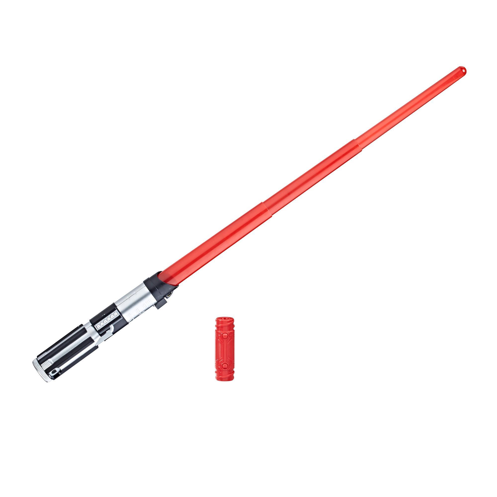 Star Wars: Uma Nova Esperança - sabre de luz eletrônico do Darth Vader