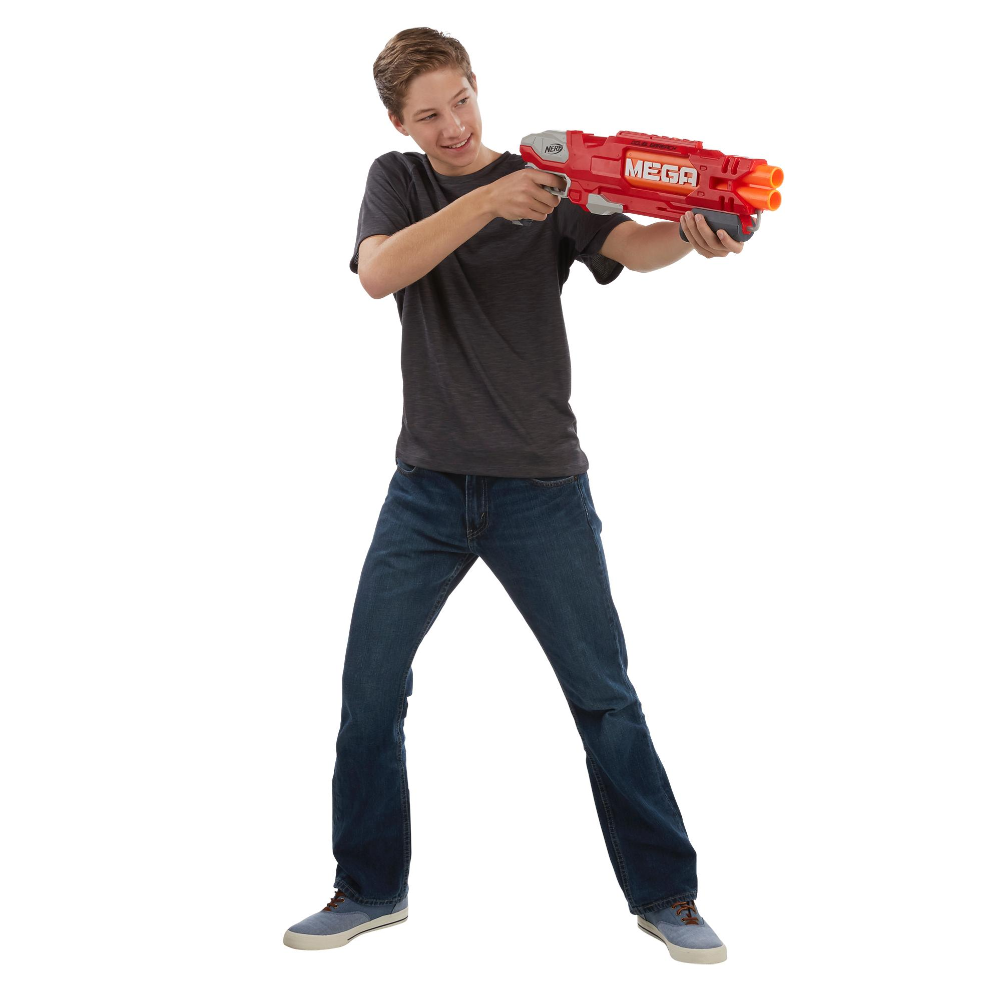 Lança Dardos Nerf Mega Doublebreach