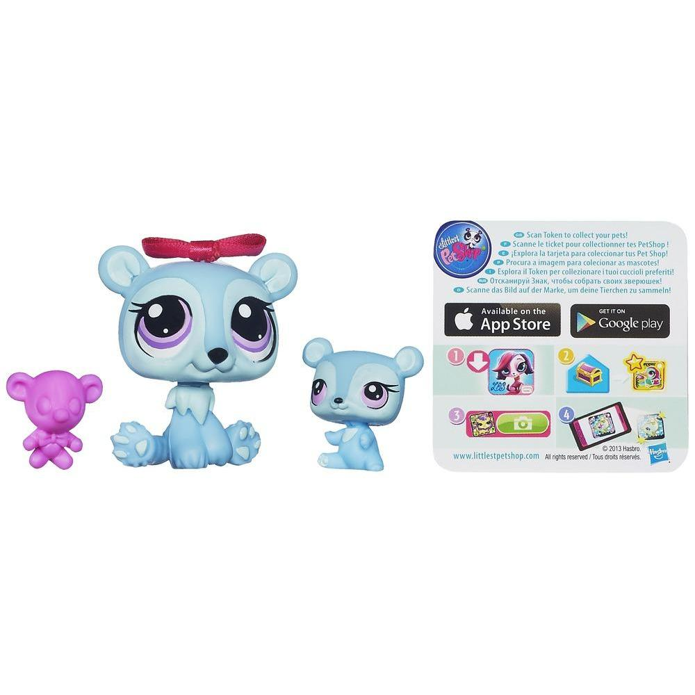 Littlest Pet Shop Favorite Pets - Ursa e ursinho