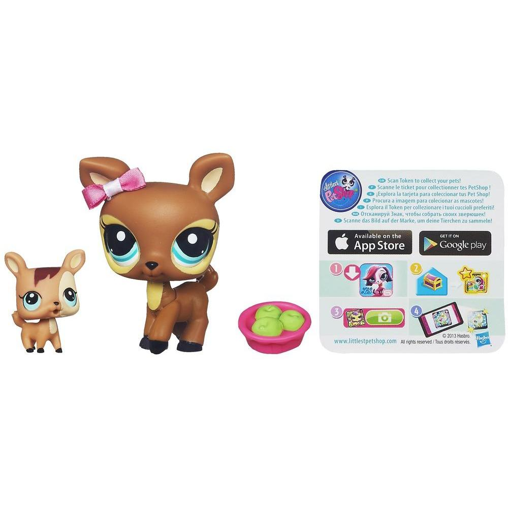 Littlest Pet Shop Favorite Pets - Cerva e bebê cervo