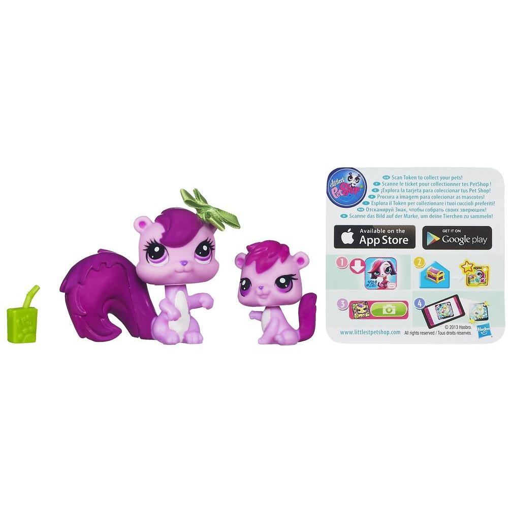 Littlest Pet Shop Favorite Pets - Esquilo e esquilinho