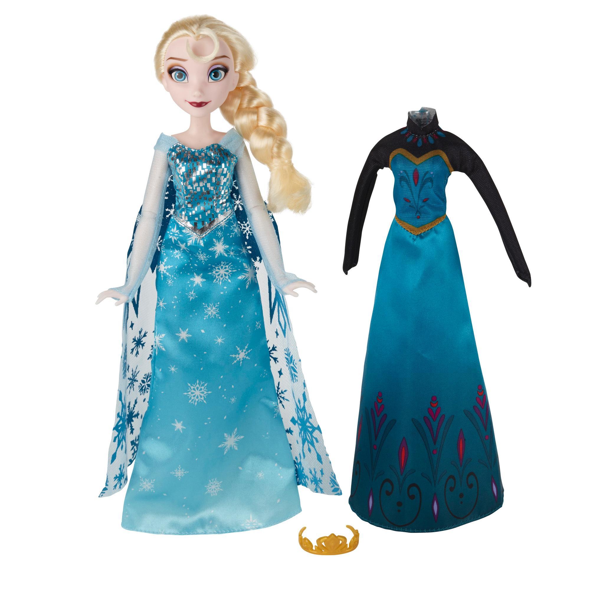 Disney Frozen Uma Aventura Congelante Elsa vestidos reais
