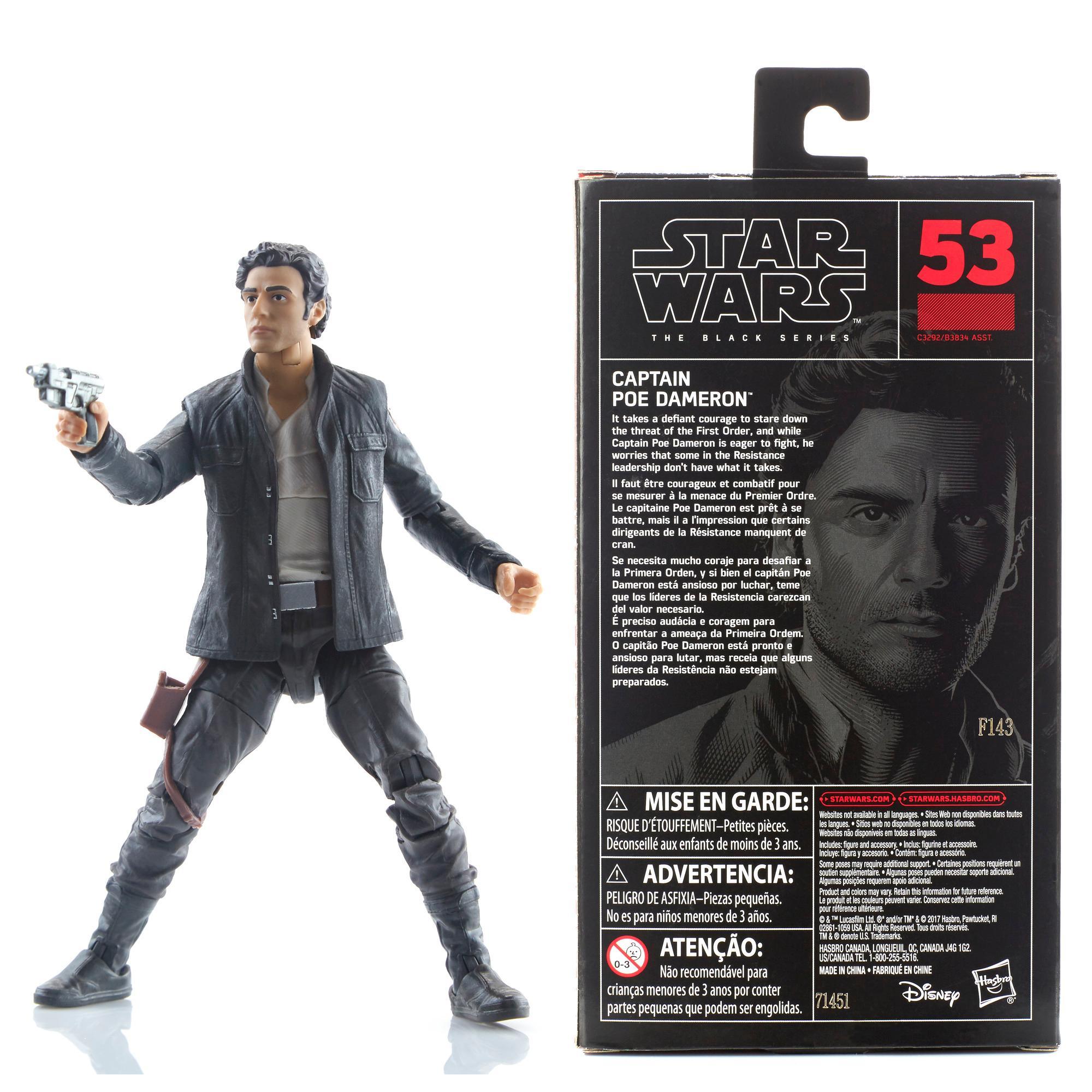 Star Wars The Black Series Capitão Poe Dameron