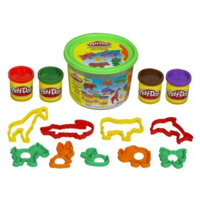 Play-Doh Mini Balde Sort.