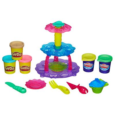 Conjunto Play-Doh Torre de Cupcake