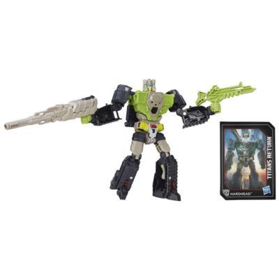 Titan Master Furos e Hardhead da Geração de Transformers do Retorno dos Titãs