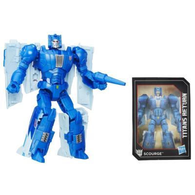 Titan Master Fracas e Scourge da Geração de Transformers do Retorno dos Titãs