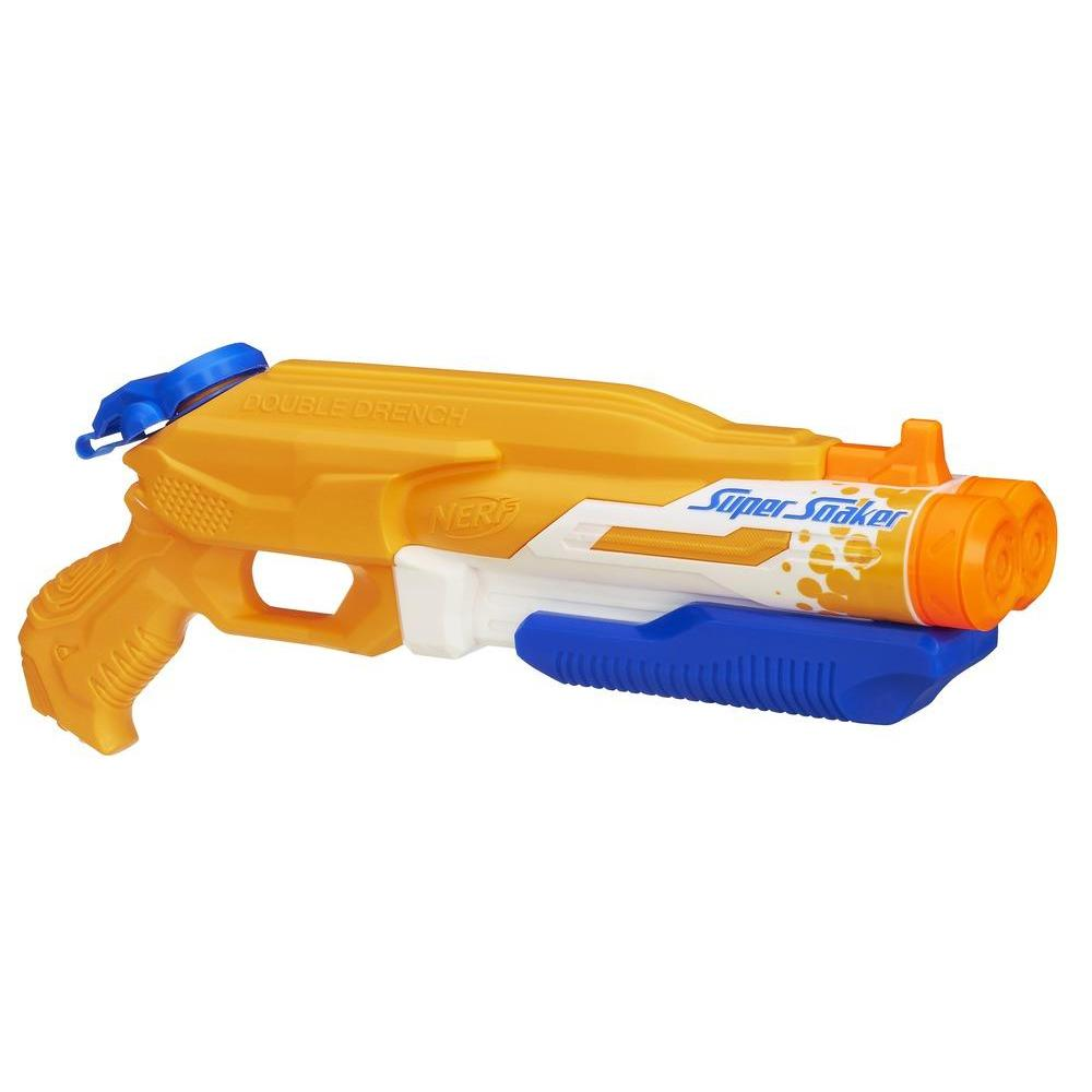 LANÇADOR NERF SUPER SOAKER DOUBLE DRENCH
