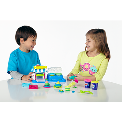 Conjunto Play-Doh Sobremesas Duplas